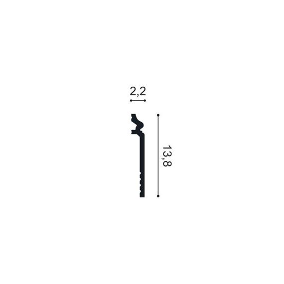 Orac Decor Profil przypodłogowy SX186