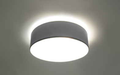 Arena 35 szara SL.0122 Sollux Lighting Lampa sufitowa