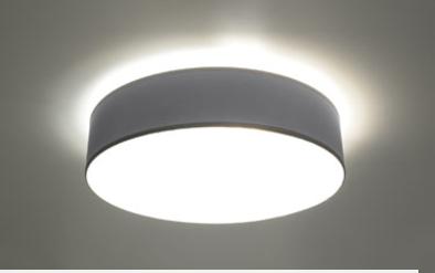 Arena 45 szara SL.0125 Sollux Lighting Lampa sufitowa