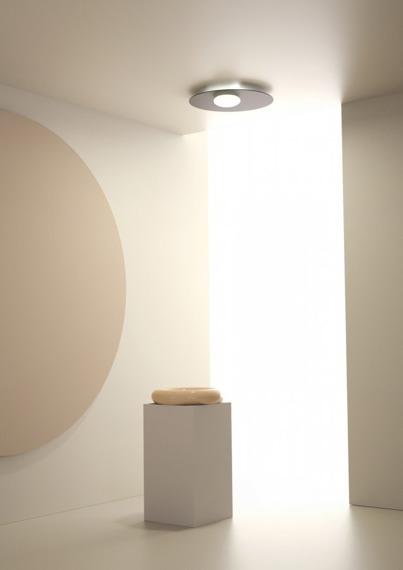 Axo Light Kwic 48 cm Plafon czarny