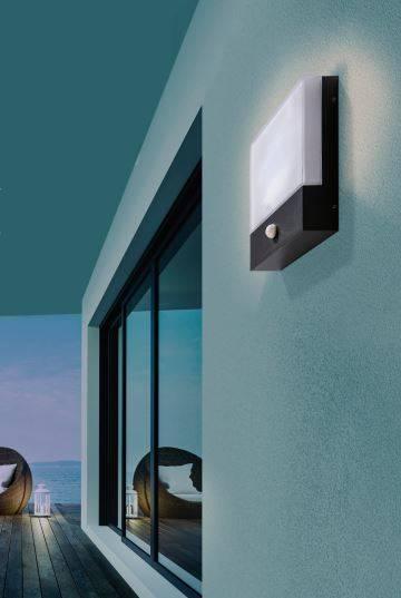 Azzardo Civita Sensor Lampa ścienna AZ4360 Ciemnoszara