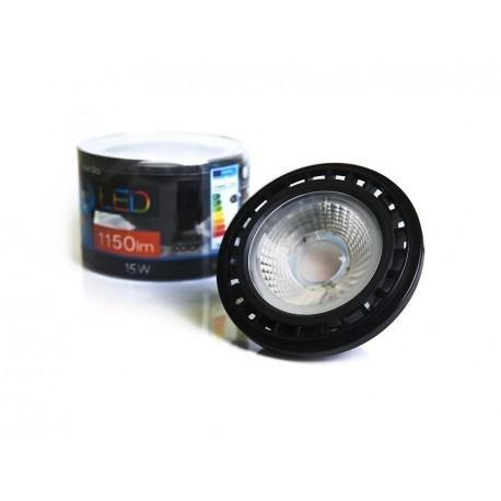Azzardo Żarówka LED ES111 (GU10) 15W czarna ściemnialna
