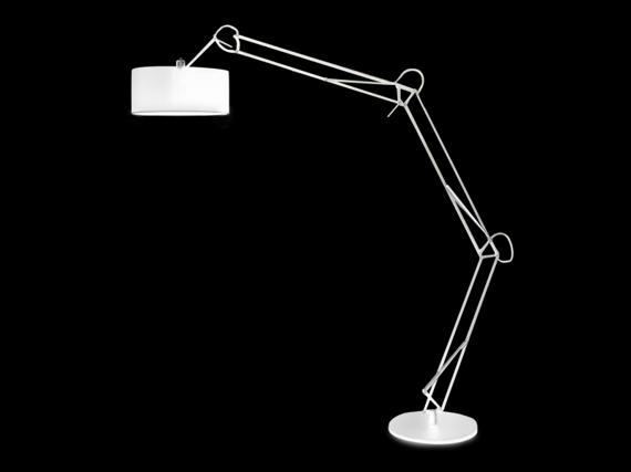 BOSSE biała Lampa podłogowa AZzardo