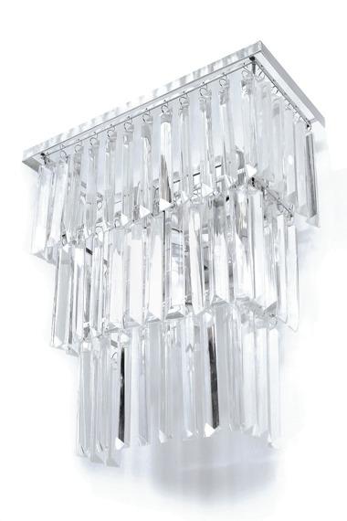 Berella Light Lester Kinkiet z kryształkami