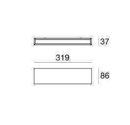 Box 6727 Kinkiet biały Linea Light
