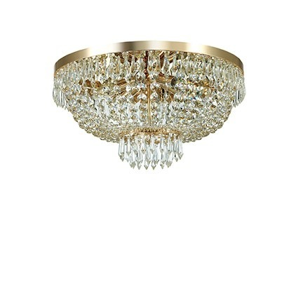 CAESAR PL6 114682 Lampa sufitowa złota Ideal Lux