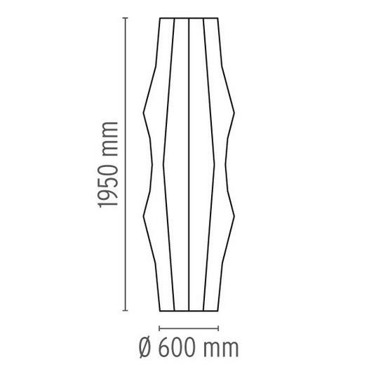 Flos FANTASMA NEW ED.05 EU Lampa Podłogowa