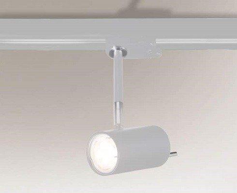 Fussa 6602 Shilo Biały Reflektor do szynoprzewodu