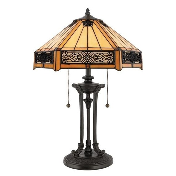 Indus QZ/INDUS/TL Lampa stołowa Elstead Lighting