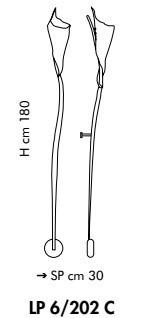 KINGSTON LP 6/202C 180 cm miedziany Kinkiet Sillux Kinkiet Sillux