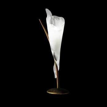 KINGSTON LT A/202 antiqued white miedziana Lampka nocna Sillux