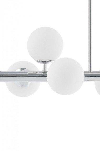 Kaspa Cumulus 3 10756805 plafoniera 8 x 9W LED E14 (chrom/biały)