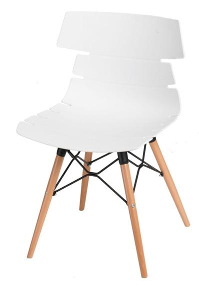 Krzesło Techno DSW białe