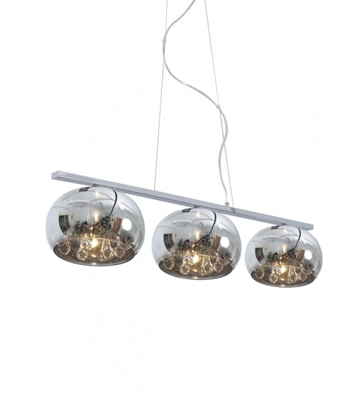 Lampa Wisząca Zuma Line Crystal P0076-03S