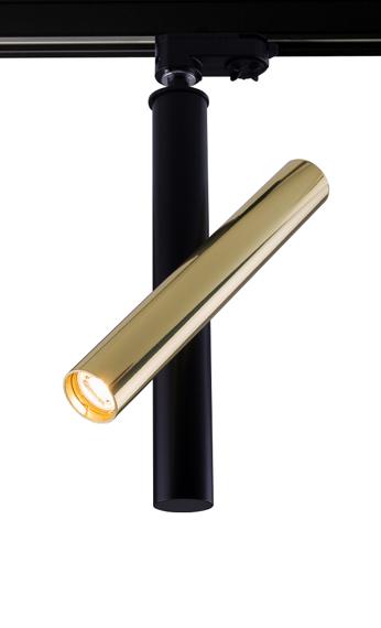 Lampa do szynoprzewodu Amplex Akadi I 0130 czarno-złoty