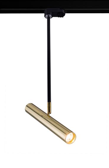 Lampa do szynoprzewodu Amplex Akadi II 0138 czarno-złoty