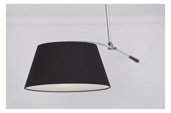 Lampa regulowana AZzardo Barcelona czarna