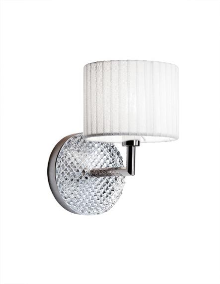 Lampa ścienna Fabbian DIAMOND Swirl D82 D01 01 white
