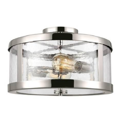 Lampa sufitowa Elstead Lighting Harrow FE-HARROW-SF Nikiel