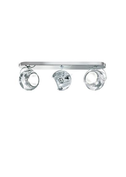 Lampa sufitowa Fabbian BELUGA COLOUR D57 G25 00 crystal