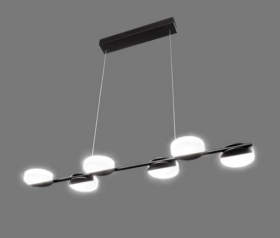 Lampa wisząca Ledowa Auhilon Hugo 6L P2671-6L