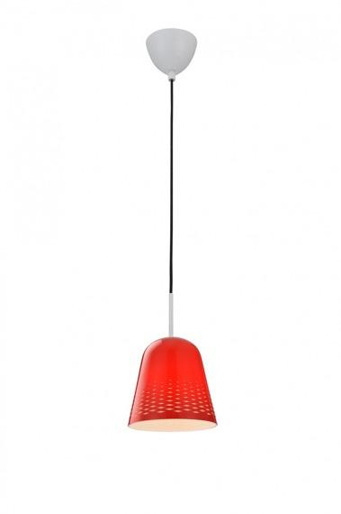 Lampa wisząca Zuma Line FRESH MD5018-1R czerwona