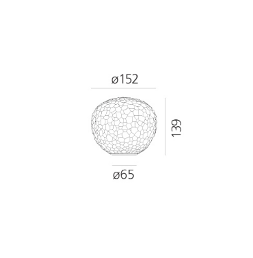 Lampka Meteorite 1703110A Artemide