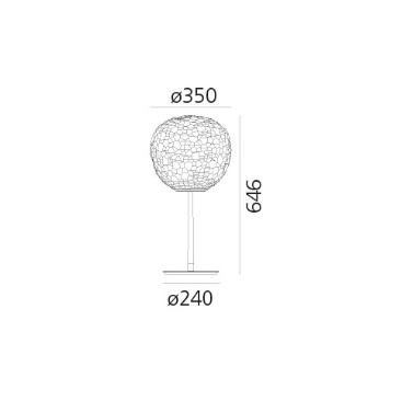 Lampka Meteorite 1705010A Artemide