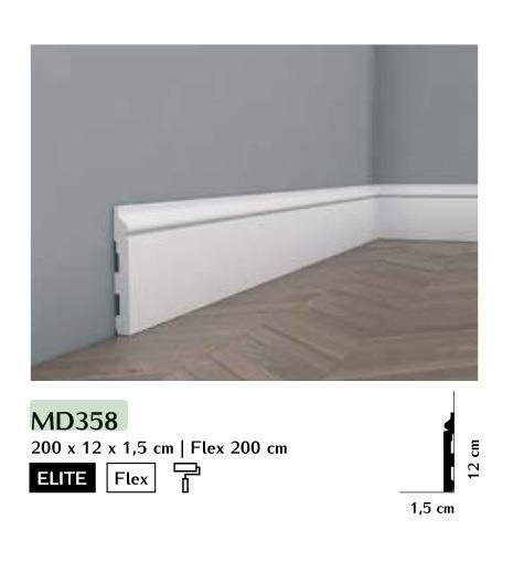 Listwa przypodłogowa Mardom MD358