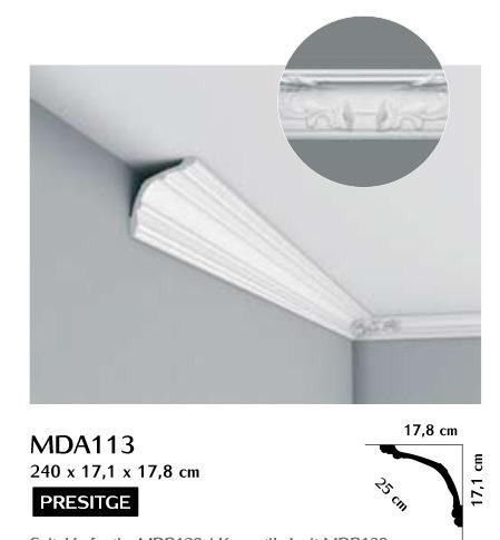 Listwa przysufitowa ozdobna Mardom MDA113