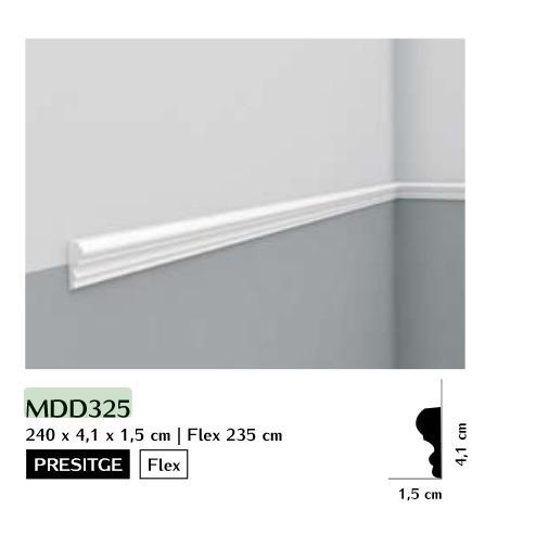 Listwa ścienna gładka Mardom MDD325
