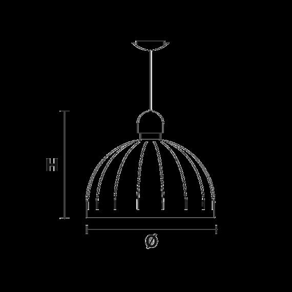 Masiero Cupolè S1 80 V91 czarna