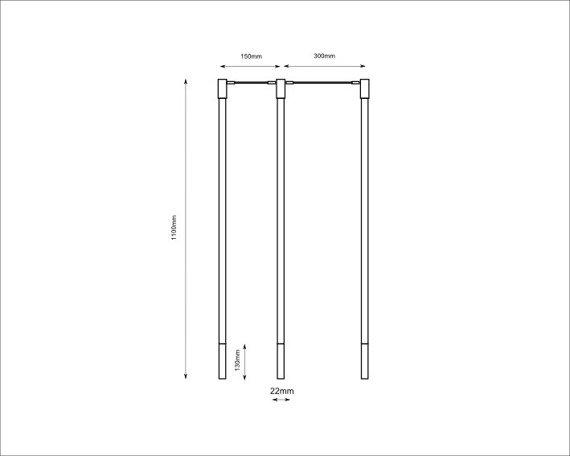 Minimalistyczna Lampa Shilo Alha 9390 Miedź
