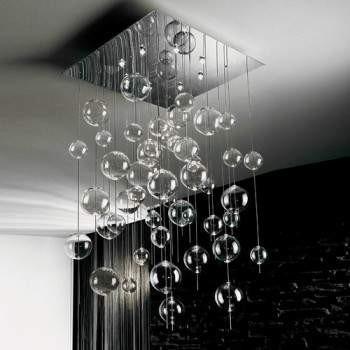NIAGARA SP H/236  crystal Lampa Sufitowa Sillux 80 cm