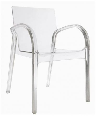 Noah krzesło tranansparentne