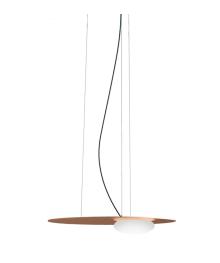 Nowoczesna lampa Axo Light Kwic 48 cm brązowa