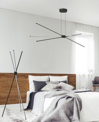 Nowoczesna lampa podłogowa Azzardo Jax AZ3136