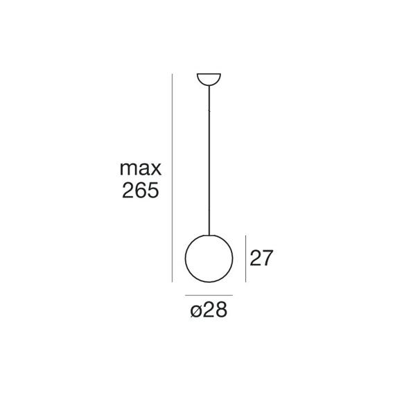 Oh! 15180 Żyrandol IP65 Linea Light