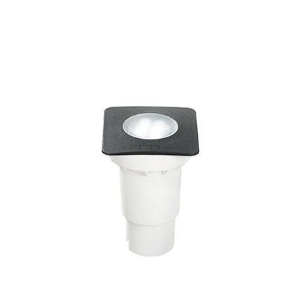 Oprawa Najazdowa Ceci Square Fl1 Small Ideal Lux czarna 9 cm IP 67