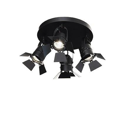 Oprawa Sufitowa Ciak PL4 deal Lux czarny