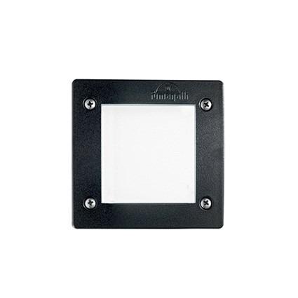 Oprawa najazdowa Ideal Lux LETI Square FL1 Czarna