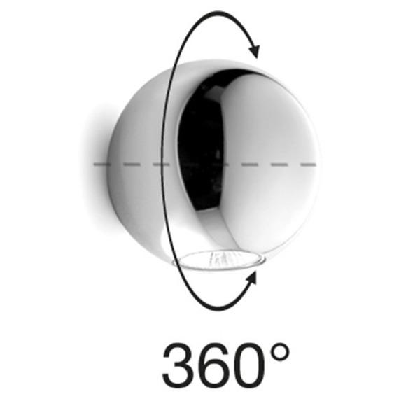 Pelota 6610 Kinkiet chrom Linea Light