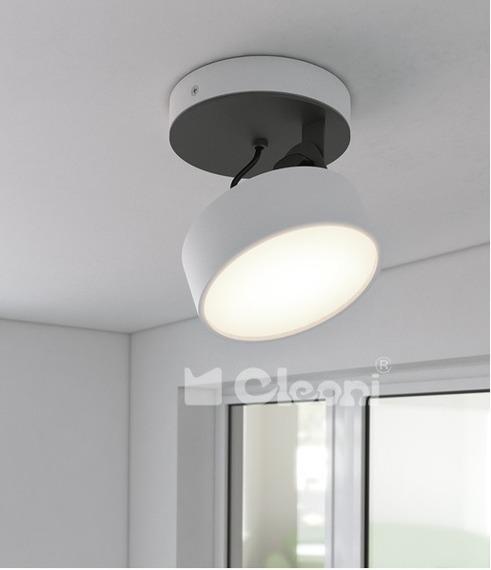 Plafon/SPOT Cleoni DOT Biały Mat 10W LED 970 lm