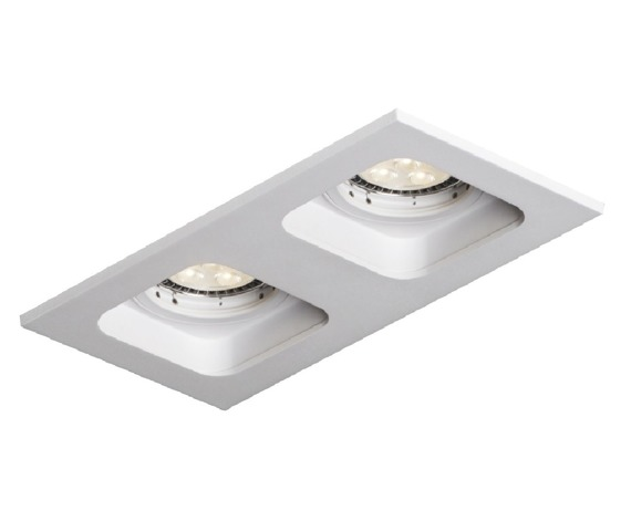 Nowoczesna lampa wpuszczana Quad Mistic Double MSTC-05355520
