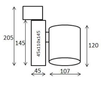 Reflektor do szyny LEDowy Tracker Mistic MSTC-05411210 biały kolor