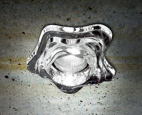 SD BAIA I Oprawa do zabudowy kryształowa Leucos 9,5 cm