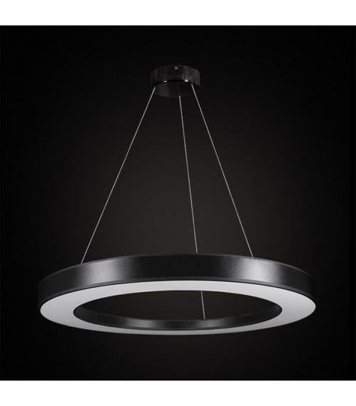 Tubus LED 67720 Żyrandol Ramko czarny