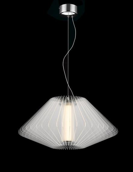 Zuma LIne Oprawa Wisząca Moderna P0361-01C-F4B1 LED 54,5 cm