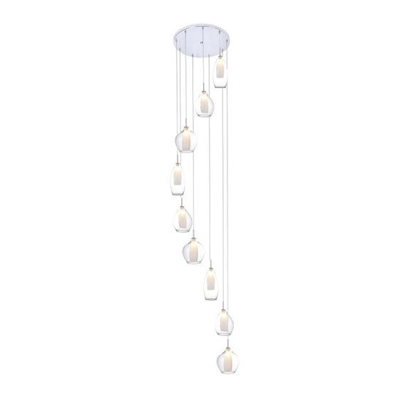Zwis szklany Azzardo Amber Milano AZ3102