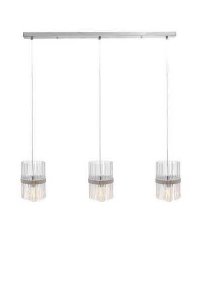Zwis szklany chromowy Berella Light Borda SP3 BL5433